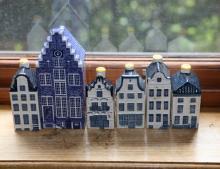 KLM Bols ceramic houses
