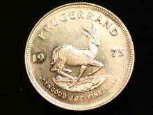 1975 Krugerrand gold coin