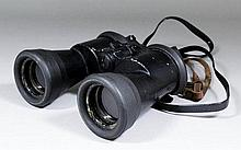A good pair of World War II German U-Boat 7 x 50 fixed focus binoculars by Carl Zeiss of Jena