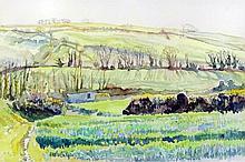 ***Mary Martin (born 1951) - Watercolour -