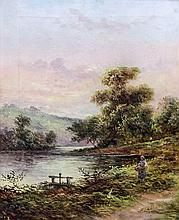 Edward Charles Williams (1807-1881) - Pair of oil paintings - Lake District