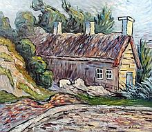 20th Century School after Vincent Van Gogh (1853-1890) - Acrylic painting -