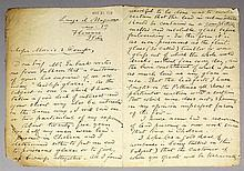 William de Morgan (1839 - 1917) - Autograph letter from de Morgan , dated M
