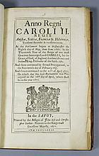 """Anno Regni Caroli II....""printed by the Assigns of John Bill and Christoph"