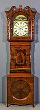 "A 19th Century ""Yorkshire"" mahogany longcase clock by Tranmer of Wakefield,"