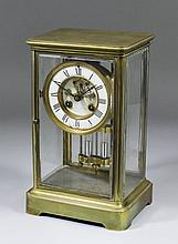 "A 19th Century French ""Four glass"" mantel clock by S. Marti & Cie, Paris No"