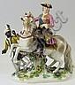 A Meissen porcelain figure -