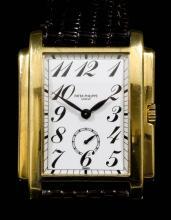 A 1990's gentleman's Patek Philippe 18K gold cased wristwatch, Model 5024, No. 1 847 851,