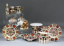 A collection of modern Royal Crown Derby bone china