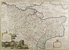 Emanuel Bowen (fl. 1714-died 1767) - Coloured