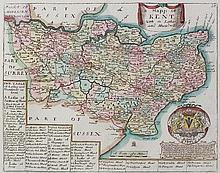 Richard Blome (1641-1705) - Coloured engraving - A