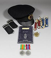 Two George VI medals Second World War medals to