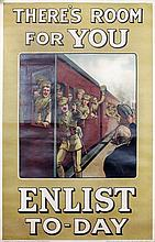 A First World War British Army Recruiting poster -