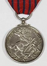 A George VI George Medal awarded to