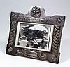An Edward VII silver rectangular photograph frame