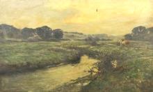 Harry Watson (1871-1936) - Oil painting -