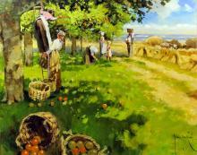 *** John Haskins (born 1938) - Oil painting -