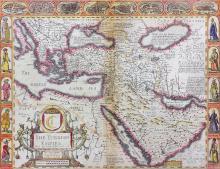 John Speed (1552-1629) - Coloured engraving -