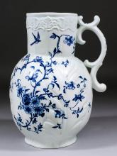 An early Worcester blue and white porcelain