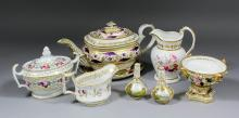 A collection of English 19th and 20th Century British ceramics, including -