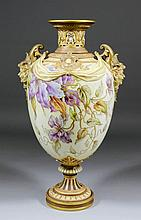 A late 19th Century Royal Worcester