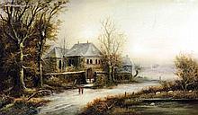 Late 19th Century British School - Oil painting -
