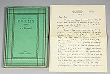 A. E. Coppard - Collection of Poems published by A