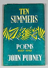 John Pudney - Five books, mostly poems and mostly