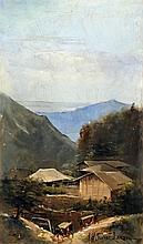 Arnold Henry Savage-Landor (1872-1924) - Oil paint