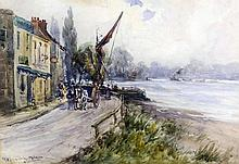 *** John Maclauchlan Milne (1885-1957) - Watercolo