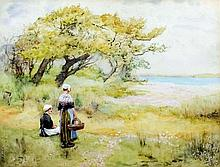 Lilian Yeend-King (1882-?) - Watercolour -