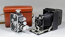 A Paillard Bolex cine camera and lenses for same,
