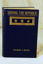 Serving The Republic, by Nelson A. Miles, 1911