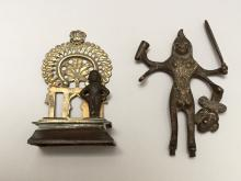 ASIAN ANTIQUE BRONZE FIGURES