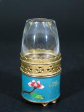 Chinese Cloisonne Opium Lamp