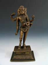 Antique Indian Bronze Buddha.
