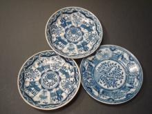 ANTIQUE Chinese Blue and White plates, Kangxi period. 5