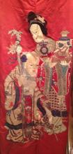 Big Chinese Embroidery Work, Qing Dynasty.