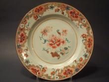 Antique Chinese Famille Rose Plate, 18th C. 9