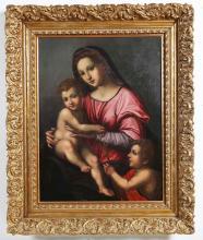 ARTISTA ITALIANO DEL XVII SECOLO  Madonna and Child.