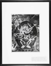 Arte Himalayana Fosco Maraini (1912 - 2004) Photograph depicting the copulating skeletons Tibet, Chumbi valley, June 1948