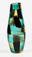 BIANCONI FULVIO (1915 - 1996) Dappled glass vase
