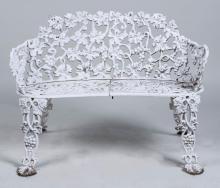 Victorian Style Cast Iron Garden Bench