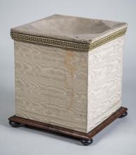 Upholstered Box Ottoman