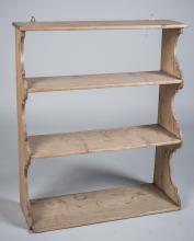 Unfinished Wood Hanging Shelf