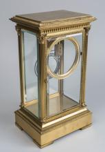 French Gilt Bronze Clock Case