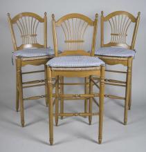 Three Barstools