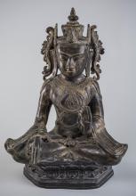 Burmese Bronze Buddha