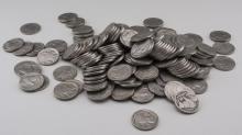 Group of Buffalo Nickels