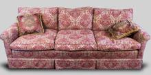 Traditional Style Pink Sofa